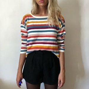 {Westbound} colorful striped sweater